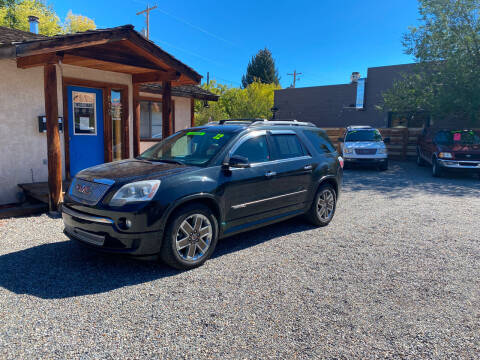 2012 GMC Acadia for sale at Sawtooth Auto Sales in Hailey ID