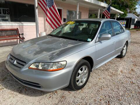 2002 Honda Accord for sale at D & D Detail Experts / Cars R Us in New Smyrna Beach FL