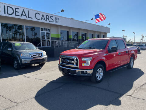 2015 Ford F-150 for sale at Ideal Cars Atlas in Mesa AZ