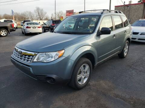 2012 Subaru Forester for sale at Drive Motor Sales in Ionia MI