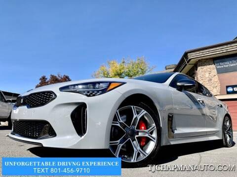 2018 Kia Stinger for sale at TJ Chapman Auto in Salt Lake City UT