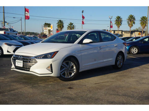 2019 Hyundai Elantra for sale at Maroney Auto Sales in Humble TX
