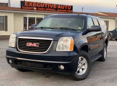 2007 GMC Yukon XL for sale at Executive Auto in Winchester VA