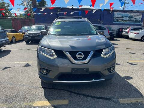 2015 Nissan Rogue for sale at Metro Auto Sales in Lawrence MA