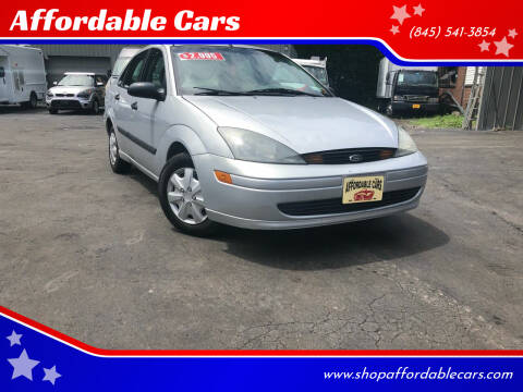 2004 Ford Focus for sale at Affordable Cars in Kingston NY