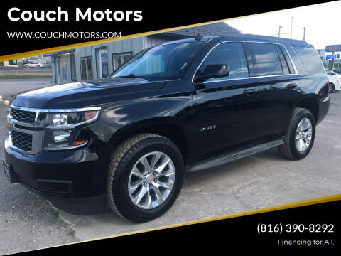 2015 Chevrolet Tahoe for sale at Couch Motors in Saint Joseph MO