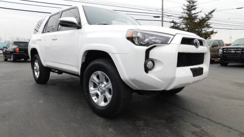 2016 Toyota 4Runner for sale at Action Automotive Service LLC in Hudson NY