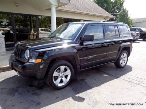 2014 Jeep Patriot for sale at DEALS UNLIMITED INC in Portage MI