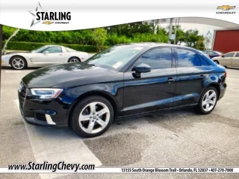 2017 Audi A3 for sale at Pedro @ Starling Chevrolet in Orlando FL