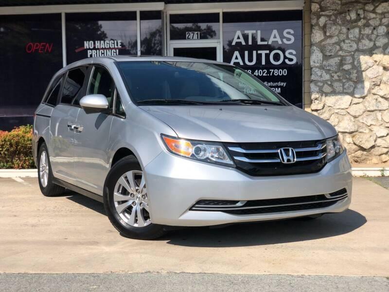 2014 Honda Odyssey for sale at ATLAS AUTOS in Marietta GA