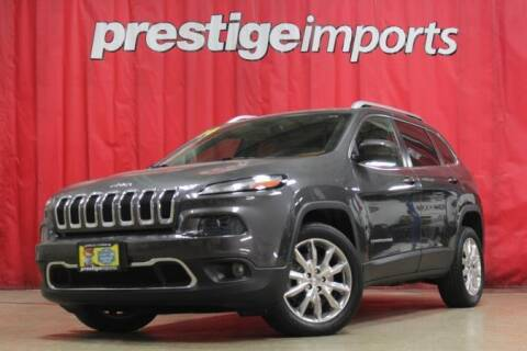 2014 Jeep Cherokee for sale at Prestige Imports in St Charles IL