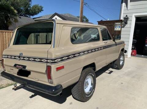 1978 Jeep Cherokee for sale at Classic Car Deals in Cadillac MI