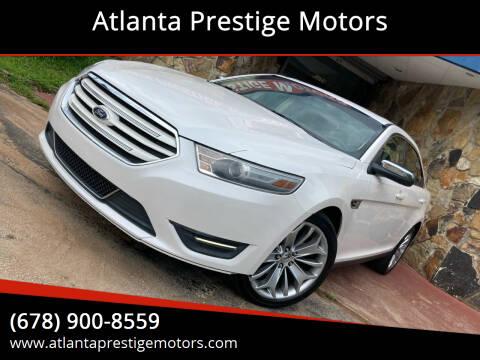 2014 Ford Taurus for sale at Atlanta Prestige Motors in Decatur GA