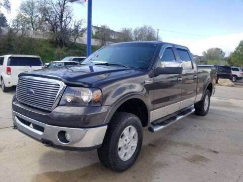 2007 Ford F-150 for sale at FRESH TREAD AUTO LLC in Springville UT