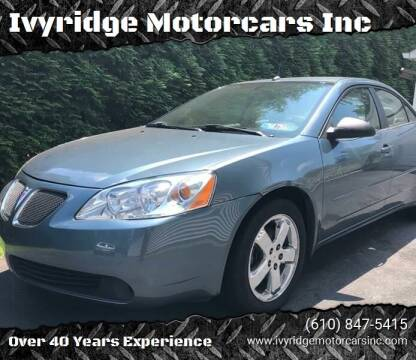 2005 Pontiac G6 for sale at Ivyridge Motorcars Inc in Ottsville PA