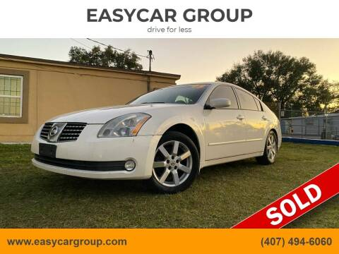 2005 Nissan Maxima for sale at EASYCAR GROUP in Orlando FL