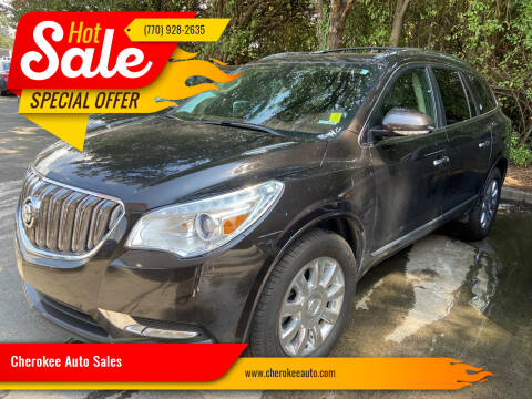 2014 Buick Enclave for sale at Cherokee Auto Sales in Acworth GA