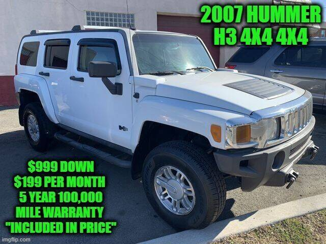 2007 HUMMER H3 for sale at D&D Auto Sales, LLC in Rowley MA