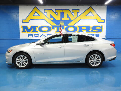 2018 Chevrolet Malibu for sale at ANNA MOTORS, INC. in Detroit MI