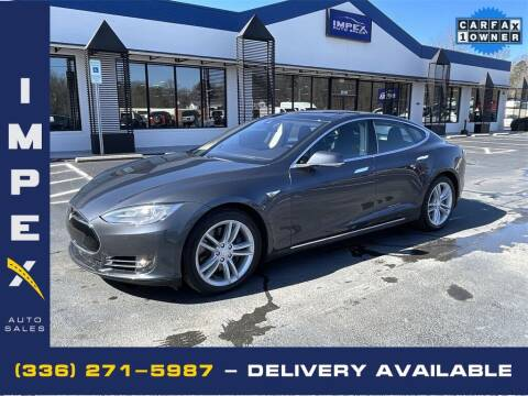 2015 Tesla Model S for sale at Impex Auto Sales in Greensboro NC