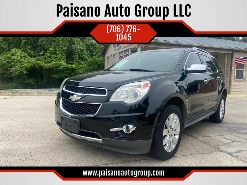 2010 Chevrolet Equinox for sale at Paisano Auto Group LLC in Cornelia GA