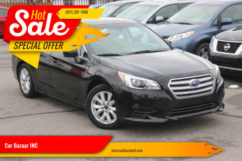 2016 Subaru Legacy for sale at Car Bazaar INC in Salt Lake City UT
