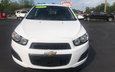 2015 Chevrolet Sonic for sale at Baker Auto Sales in Northumberland PA