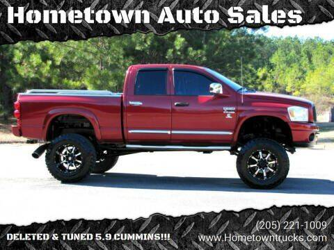 2007 Dodge Ram Pickup 2500 for sale at Hometown Auto Sales - Trucks in Jasper AL