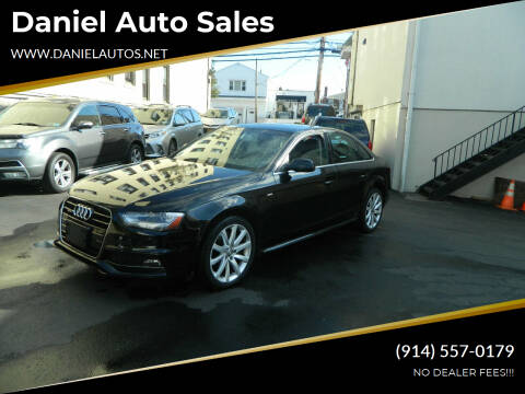 2014 Audi A4 for sale at Daniel Auto Sales in Yonkers NY