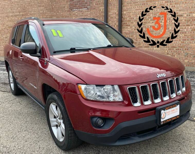 2011 Jeep Compass for sale at 3 J Auto Sales Inc in Arlington Heights IL