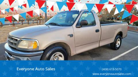 1998 Ford F-150 for sale at Everyone Auto Sales in Santa Clara CA