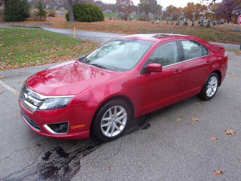 2012 Ford Fusion for sale at Pyles Auto Sales in Kittanning PA