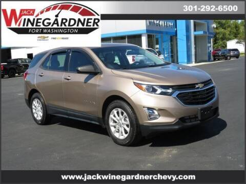 2018 Chevrolet Equinox for sale at Winegardner Auto Sales in Prince Frederick MD