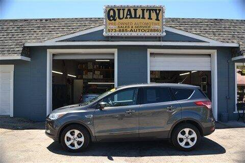 2015 Ford Escape for sale at Quality Pre-Owned Automotive in Cuba MO
