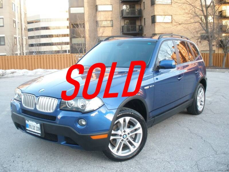 2007 BMW X3 for sale at Autobahn Motors USA in Kansas City MO