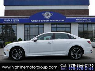 2018 Audi A4 for sale at Highline Group Motorsports in Lowell MA