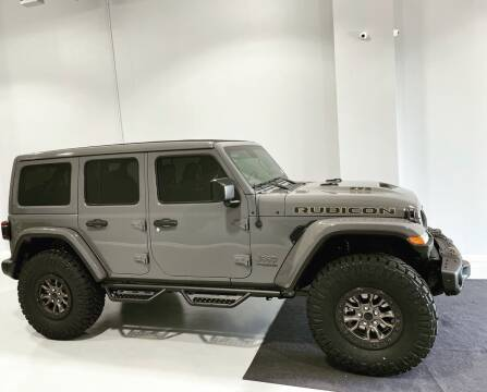 2021 Jeep Wrangler Unlimited for sale at POTOMAC WEST MOTORS in Springfield VA