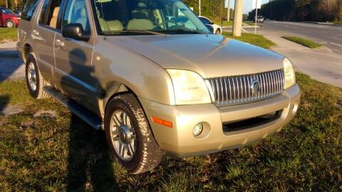 2004 Mercury Mountaineer for sale at MOTOR VEHICLE MARKETING INC in Hollister FL