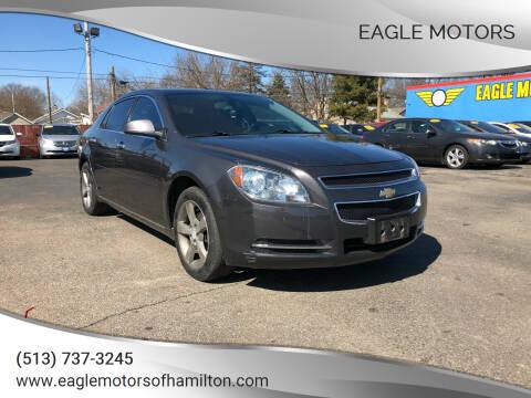 2012 Chevrolet Malibu for sale at Eagle Motors in Hamilton OH