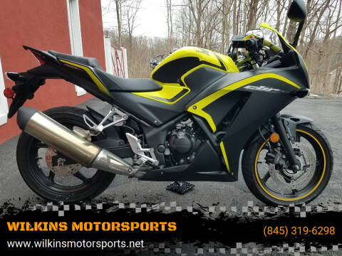 2016 Honda CBR 300R for sale at WILKINS MOTORSPORTS in Brewster NY
