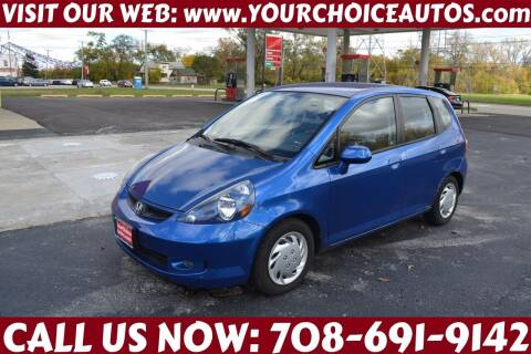 2008 Honda Fit for sale at Your Choice Autos - Crestwood in Crestwood IL