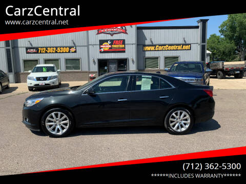 2014 Chevrolet Malibu for sale at CarzCentral in Estherville IA