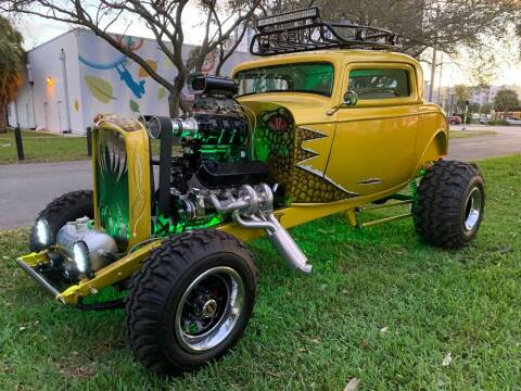 1932 Ford Model A for sale at BIG BOY DIESELS in Fort Lauderdale FL
