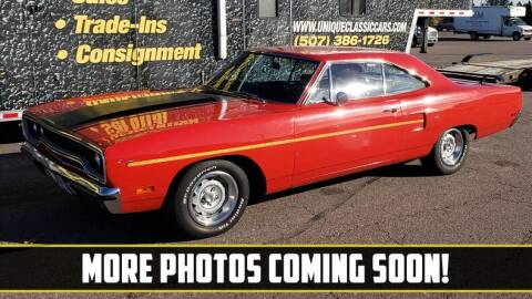 1970 Plymouth Roadrunner for sale at UNIQUE SPECIALTY & CLASSICS in Mankato MN