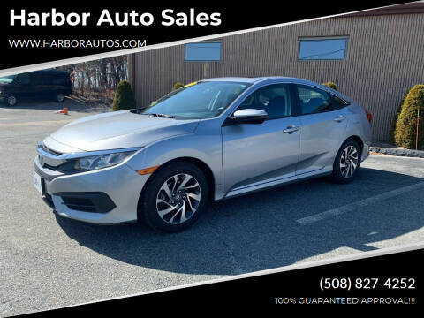 2016 Honda Civic for sale at Harbor Auto Sales in Hyannis MA