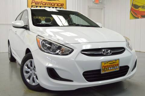 2015 Hyundai Accent for sale at Performance car sales in Joliet IL