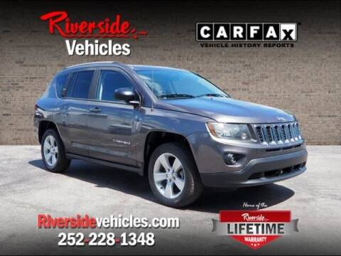 2016 Jeep Compass for sale at Riverside Mitsubishi(New Bern Auto Mart) in New Bern NC
