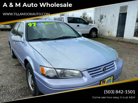 1997 Toyota Camry for sale at A & M Auto Wholesale in Tillamook OR