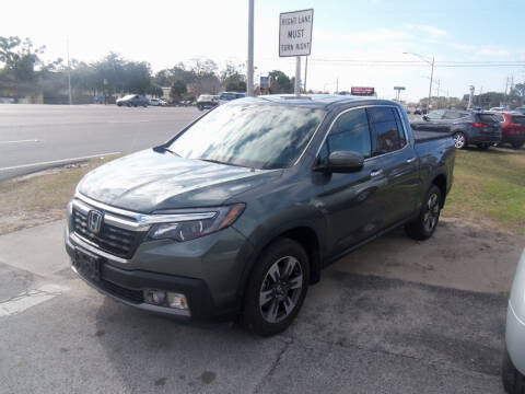 2018 Honda Ridgeline for sale at ORANGE PARK AUTO in Jacksonville FL