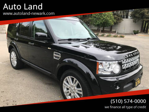 2011 Land Rover LR4 for sale at Auto Land in Newark CA